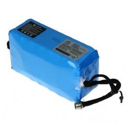 Baterie EVBIKE s kapacitou 13 Ah při napětí 48 V.