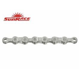 Řetěz SunRace 4 7-8k 116čl. stříbrný