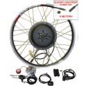 Konverzní kit 750W/36V - 1000W/48V přední kolo - Remerx Edition